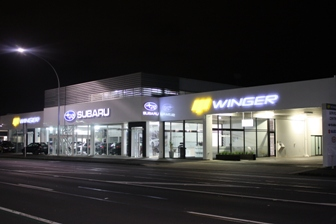 Car Sales Premises